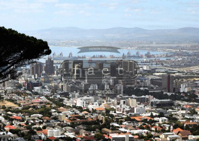 Fresco Cape Town Skyline