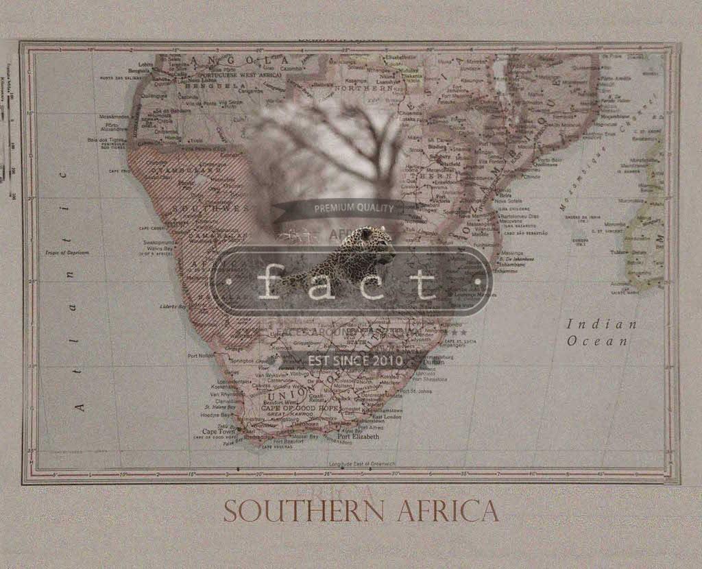 Leopard SA Map