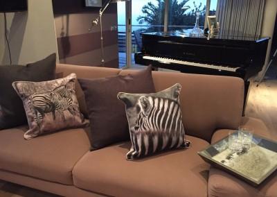 Tray & Cushions