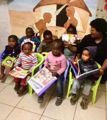 Books for Rooidakke Creche